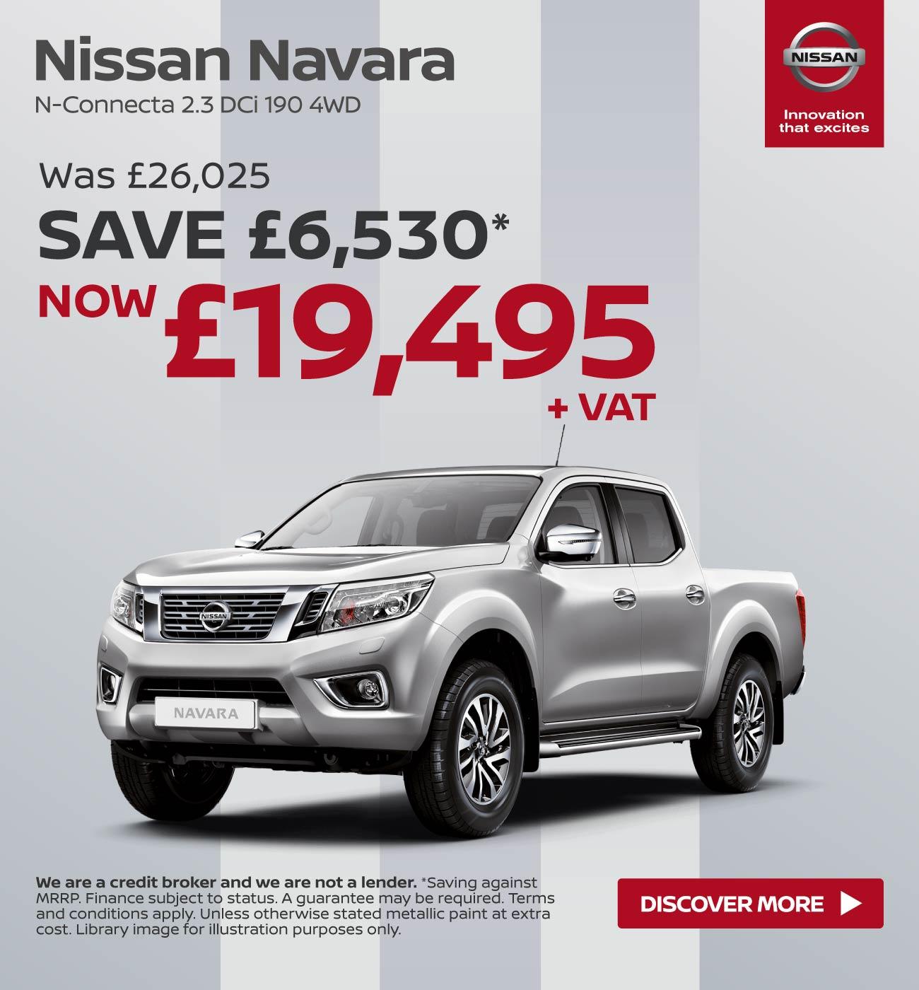 New Nissan Navara Vans For Sale