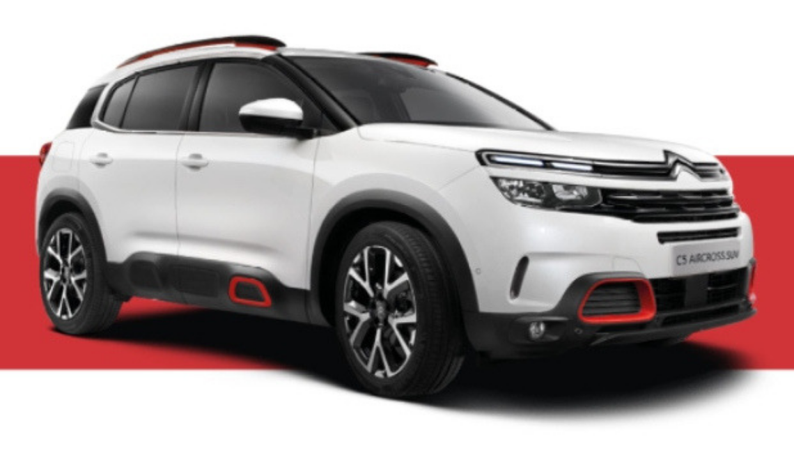 Win a New Citroen C5 Aircross!
