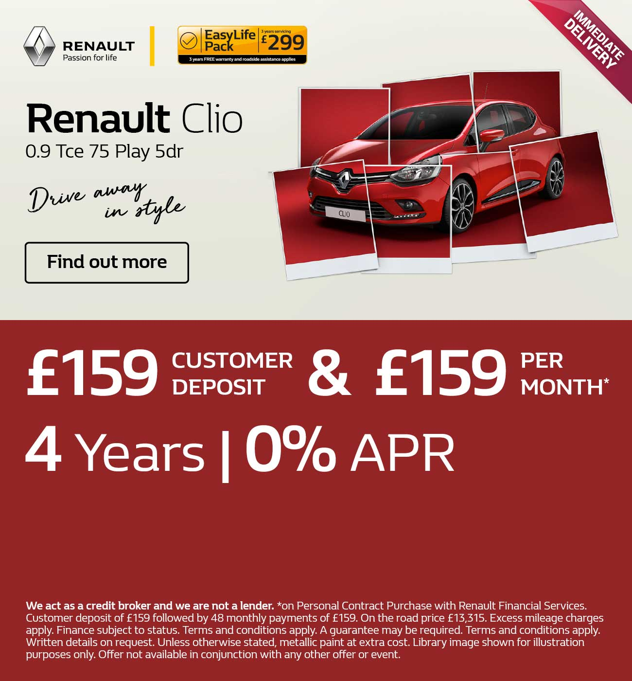 Renault Clio Find a Dealer 140219