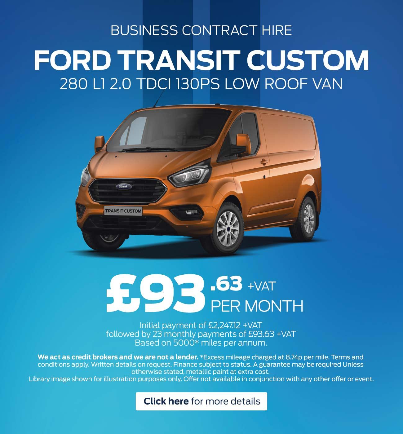 Dlm Camper Van 2017 Ford Transit Low Roof Low Mileage: New Ford Transit Custom Vans For Sale