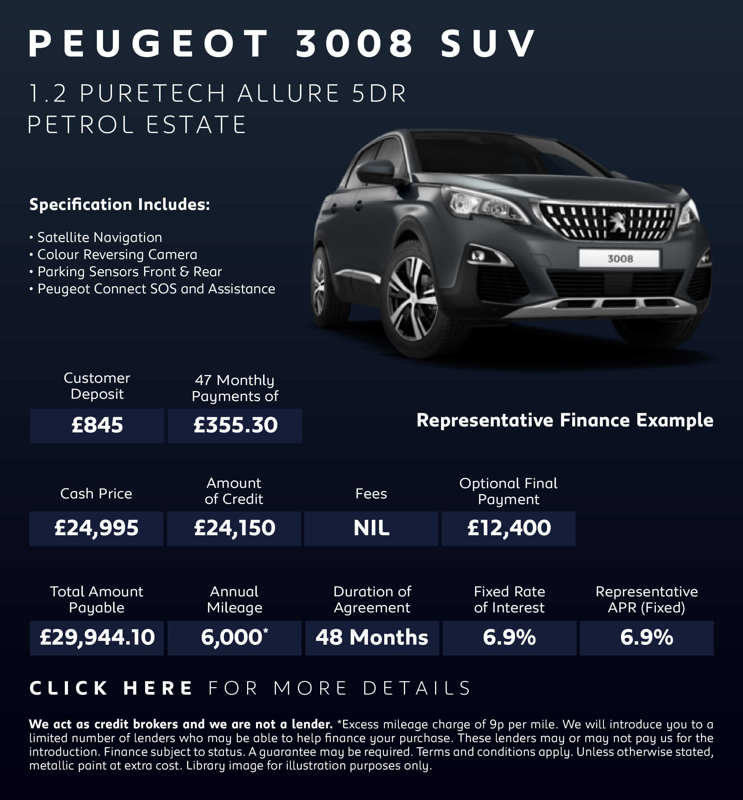 New Peugeot 3008 GT-LINE-PREMIUM Cars For Sale