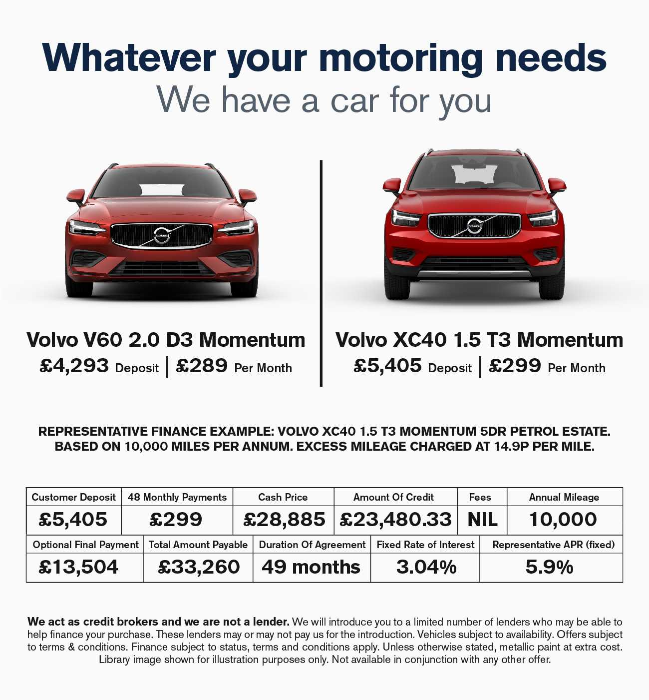 Volvo Offers 040319
