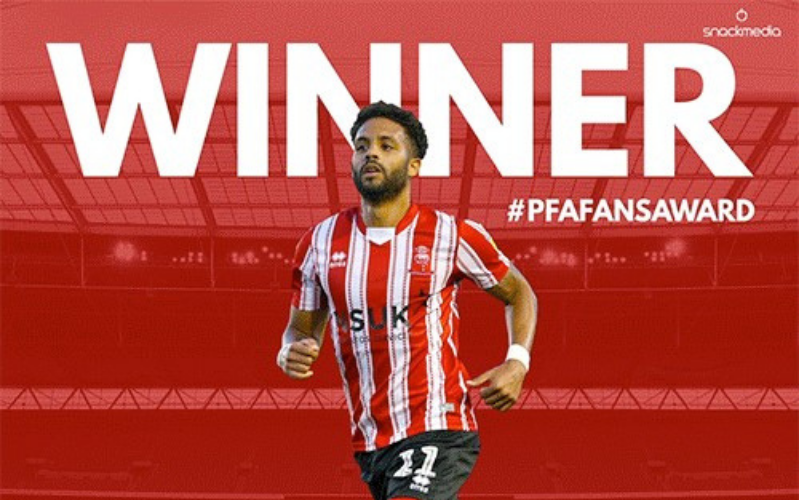 Lincoln City�s Bruno Andrade Wins League Two