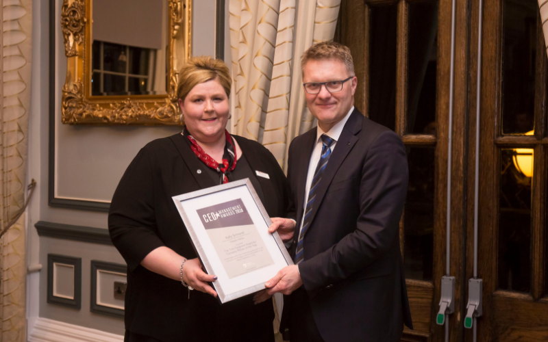 Halifax Nissan Vehicle Administrator Receives Prestige Award