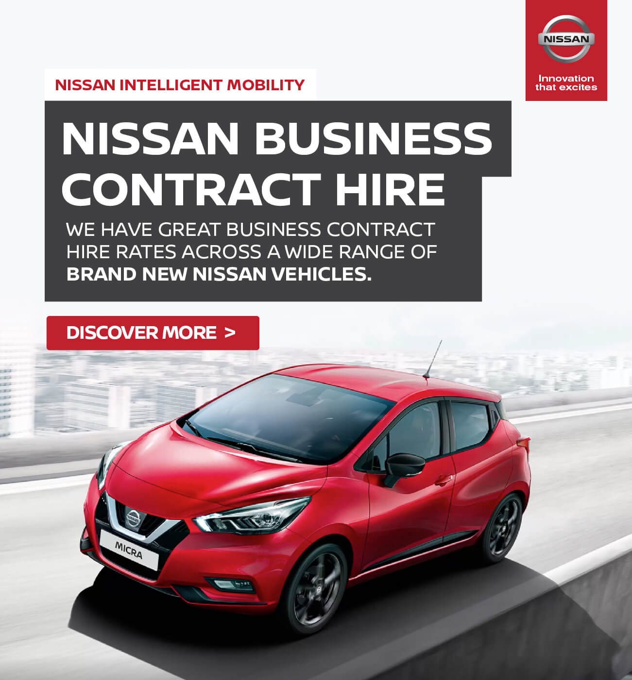 [Nissan Generic] Nissan Contract Hire 010319 Banner 1