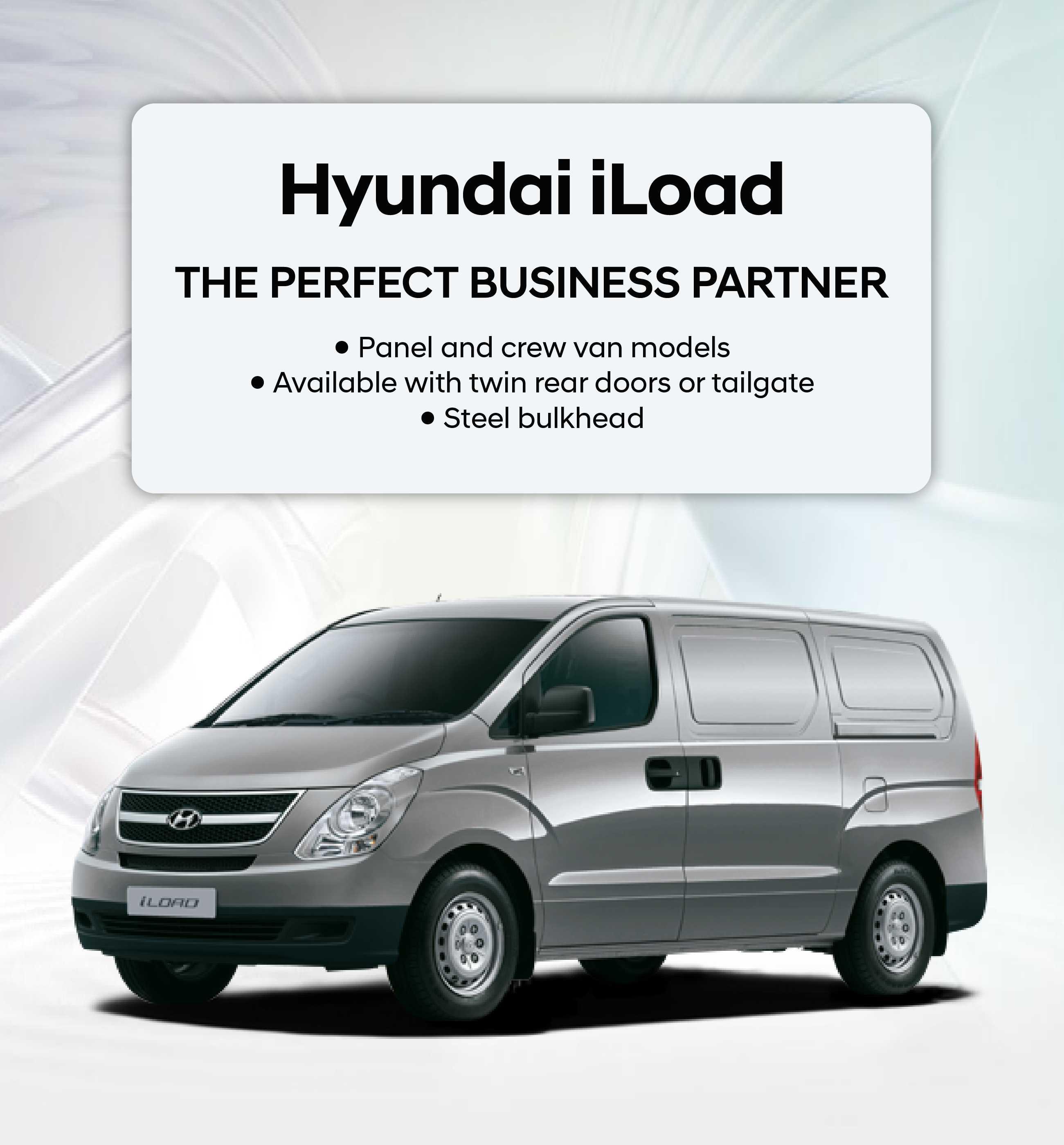 83f1f6b034 New   Nearly New Hyundai Van Range