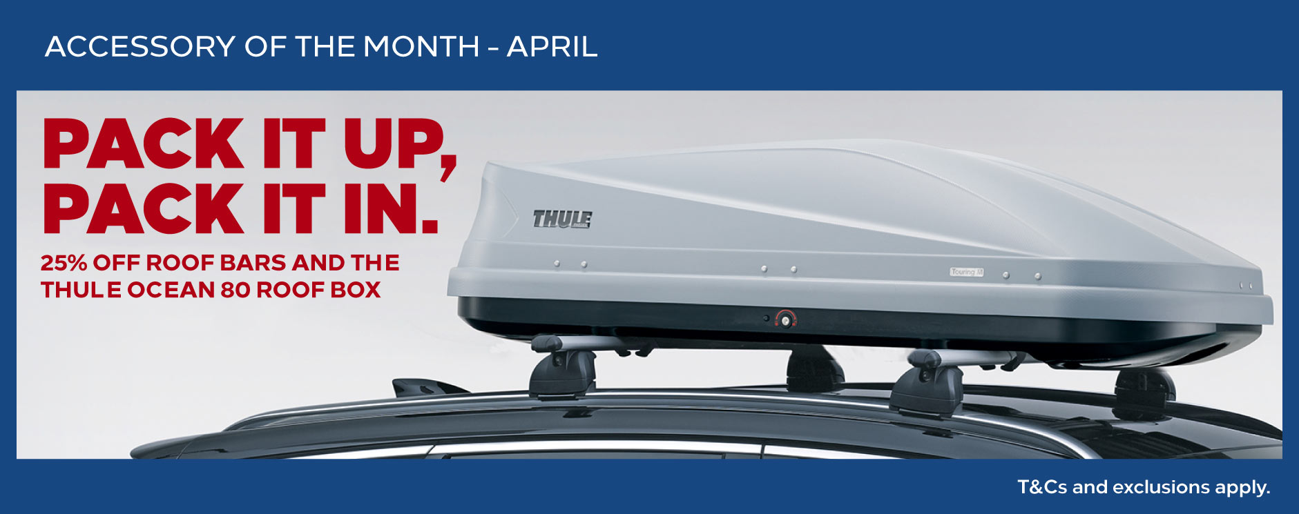Vauxhall Accessory of the month - April