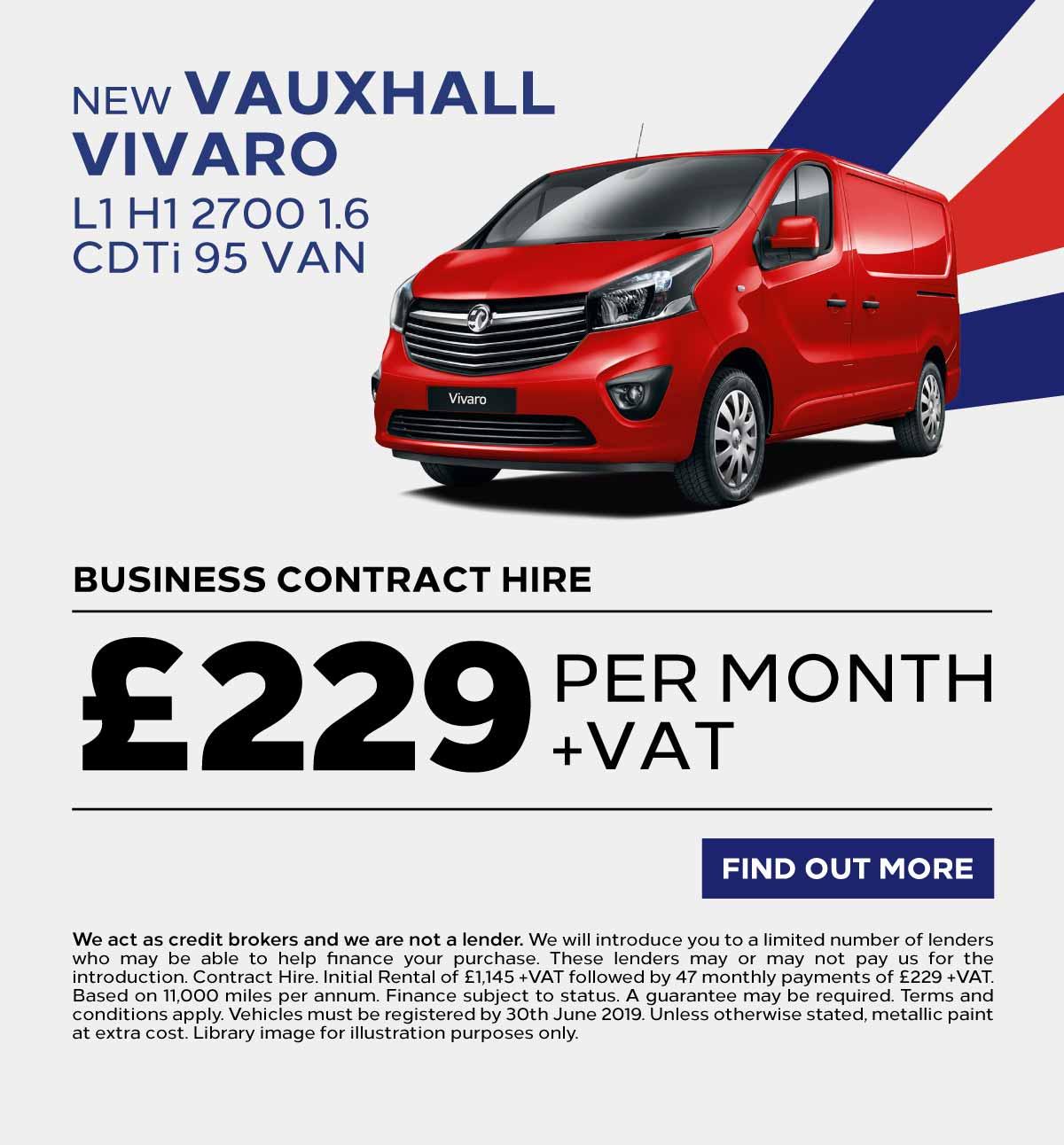 9a152780ff3f59 New   Nearly New Vauxhall Vivaro Van Deals