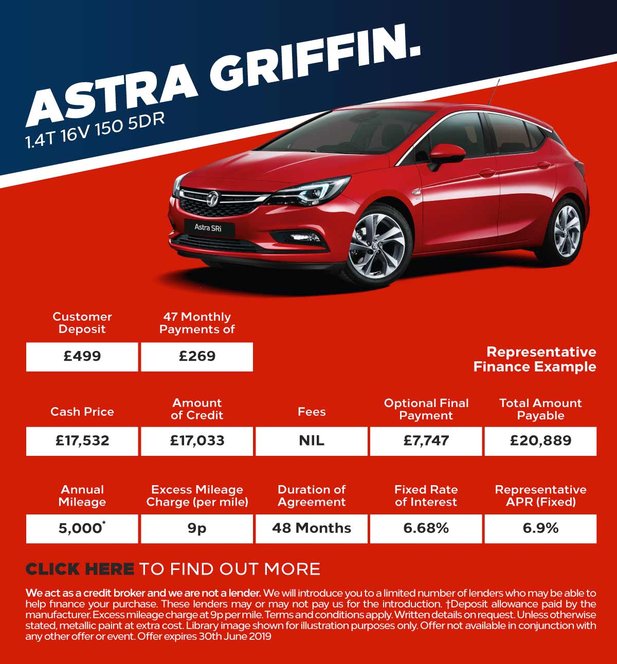 [Vauxhall Astra] Vauxhall Astra Griffin 110419 Banner 1