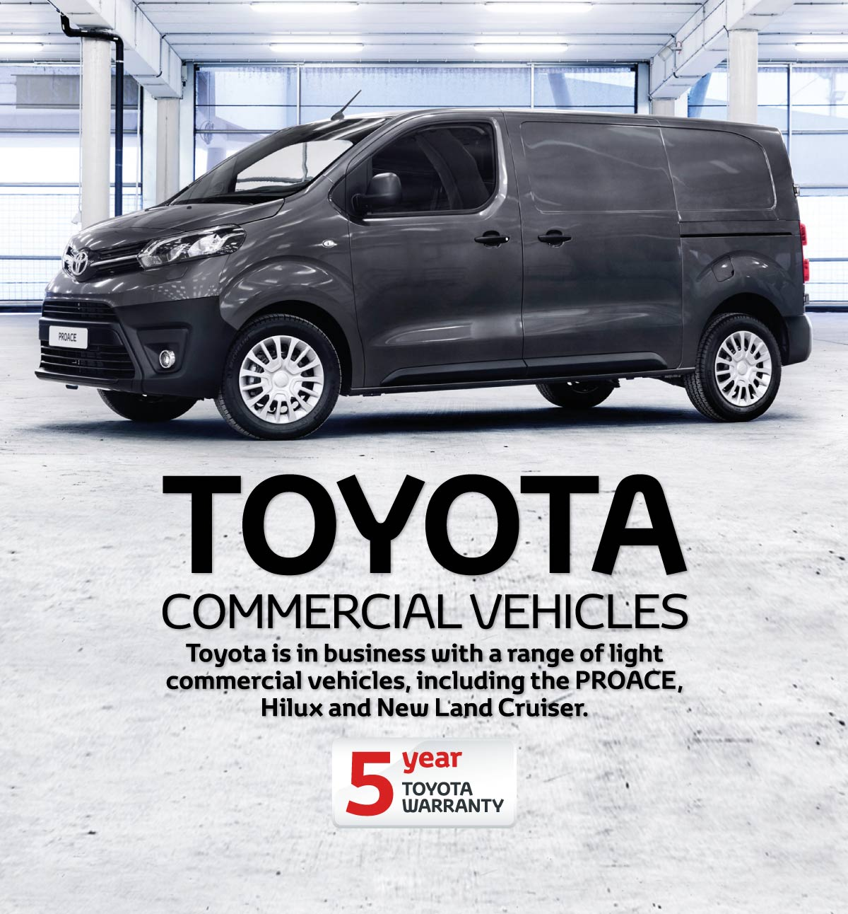 [Toyota Generic] Toyota Commercial Vehicles Banner 1