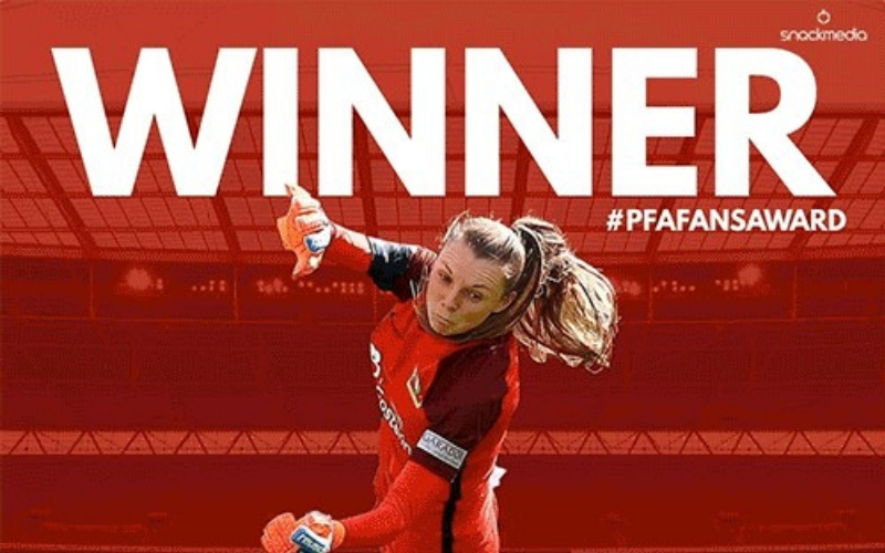 Yeovil Town's Megan Walsh Wins FAWSL PFA BSM Fans' Player of The Month Award