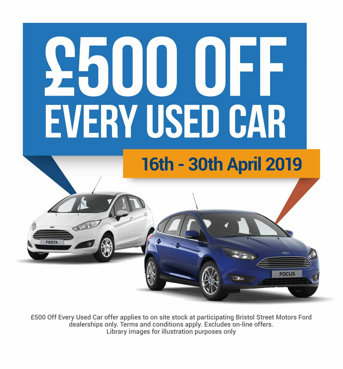BSM Ford Used �500 Off Event