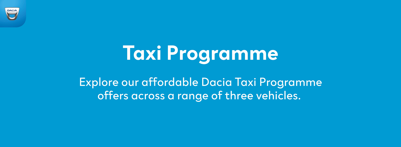 6fbb63e2365f29 Dacia Taxi Programme Car Offers