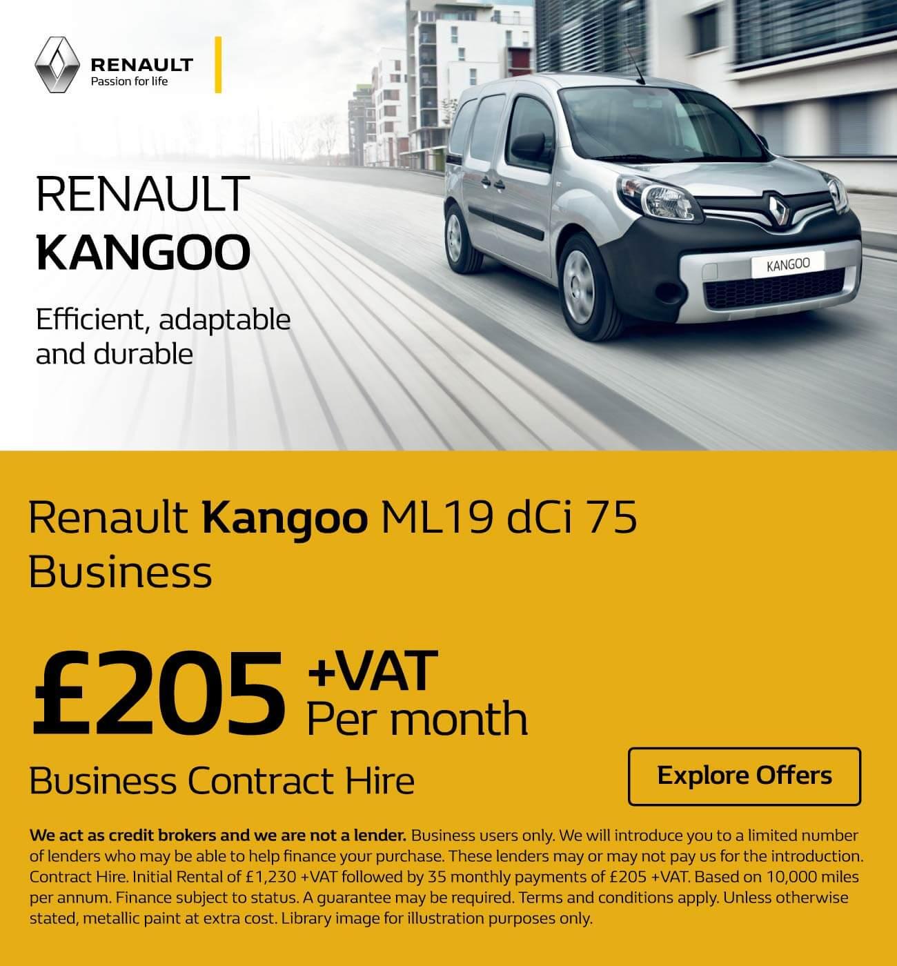 4ba7dadc88  Renault Kangoo  Renault Kangoo DCi 76 250419 Banner 1