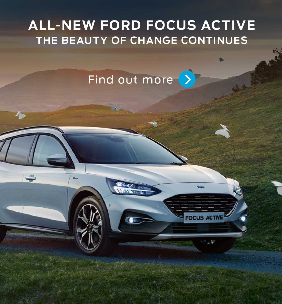 All-New Ford Focus Active Banner 3