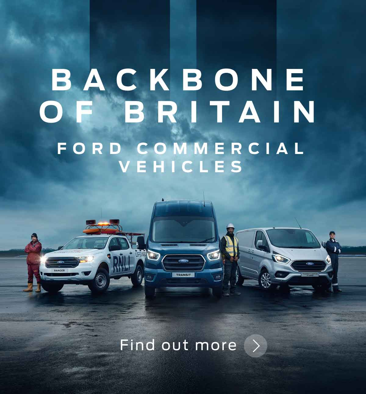 BSM Ford Commerical Backbone of Britain 030519