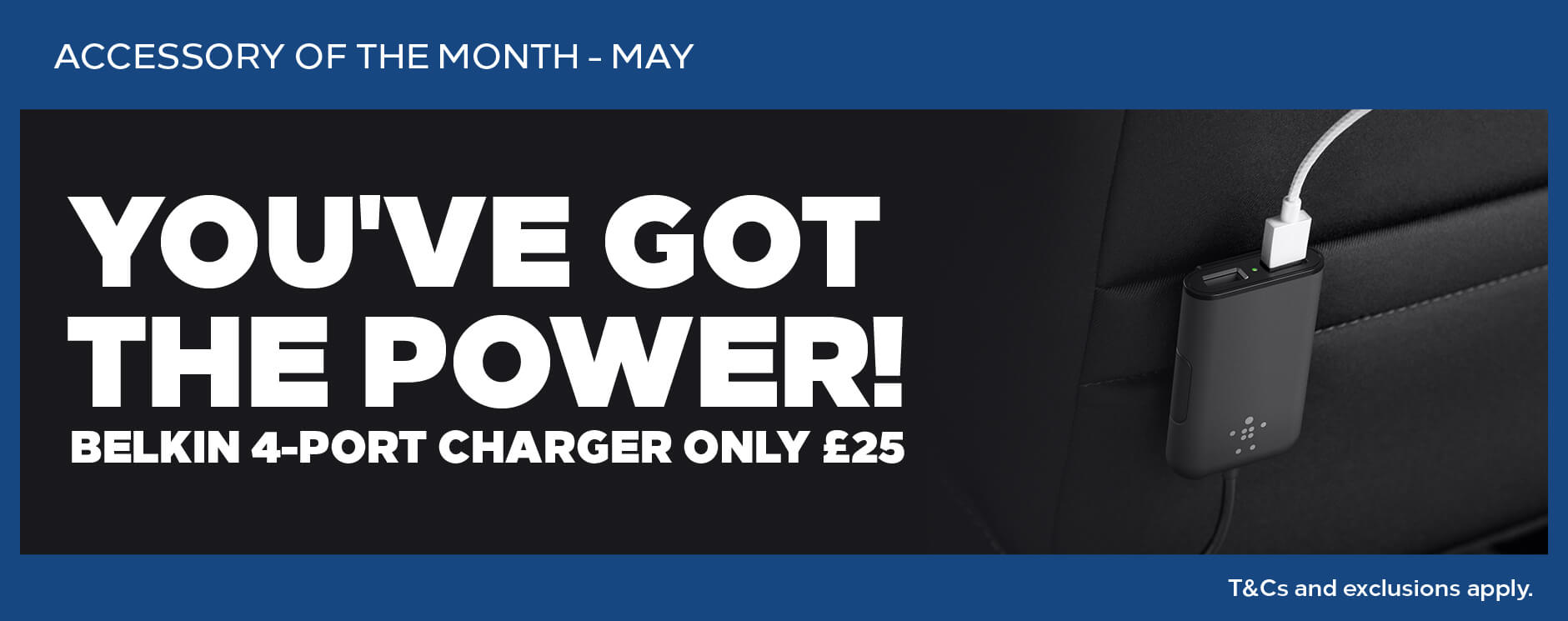 Vauxhall Accessory of the month - May