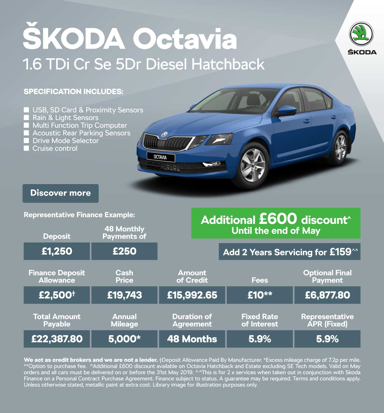 [SKODA Octavia] Temp saving flash 160519 Banner 1