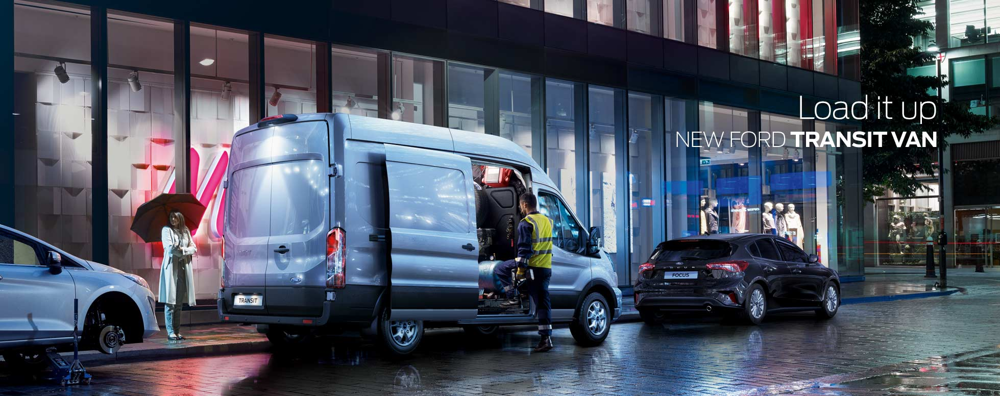 New Ford Transit Van 2019r