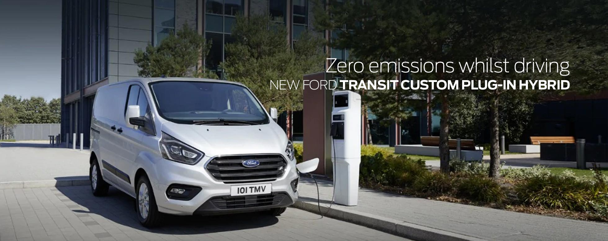 New Ford Transit Custom Plug-In Hybrid
