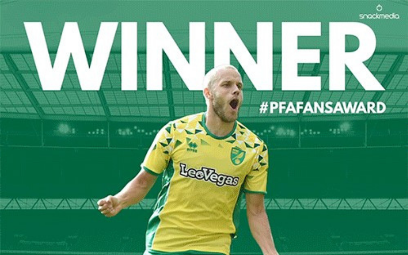 Norwich City�s Teemu Pukki Wins Championship Fans� Player of The Year Award