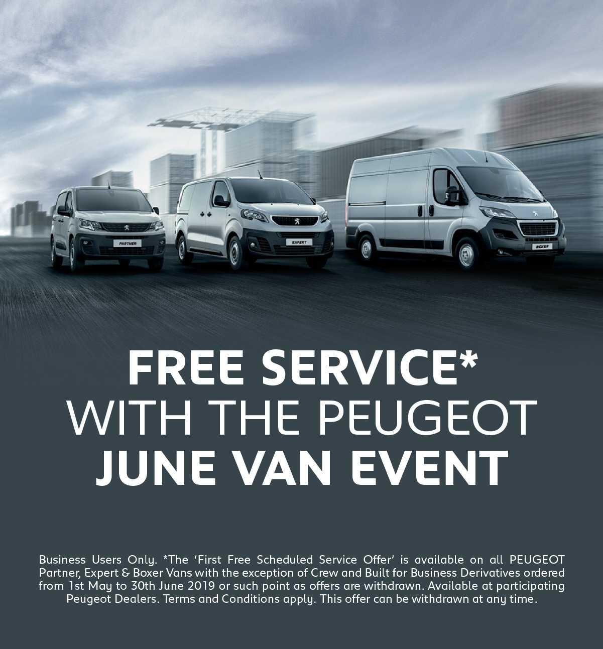 [Peugeot Generic] Peugeot Event May-June 300519 Banner 1