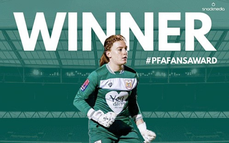 Bristol City�s Sophie Baggaley Wins FAWSL Fans� Player of The Year Award