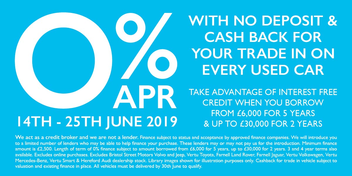 0% Used Car Event June 2019 - BSM MM