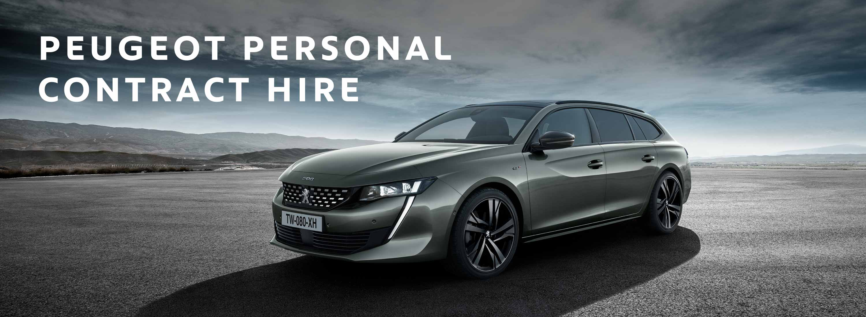 Peugeot Personal Contract Hire