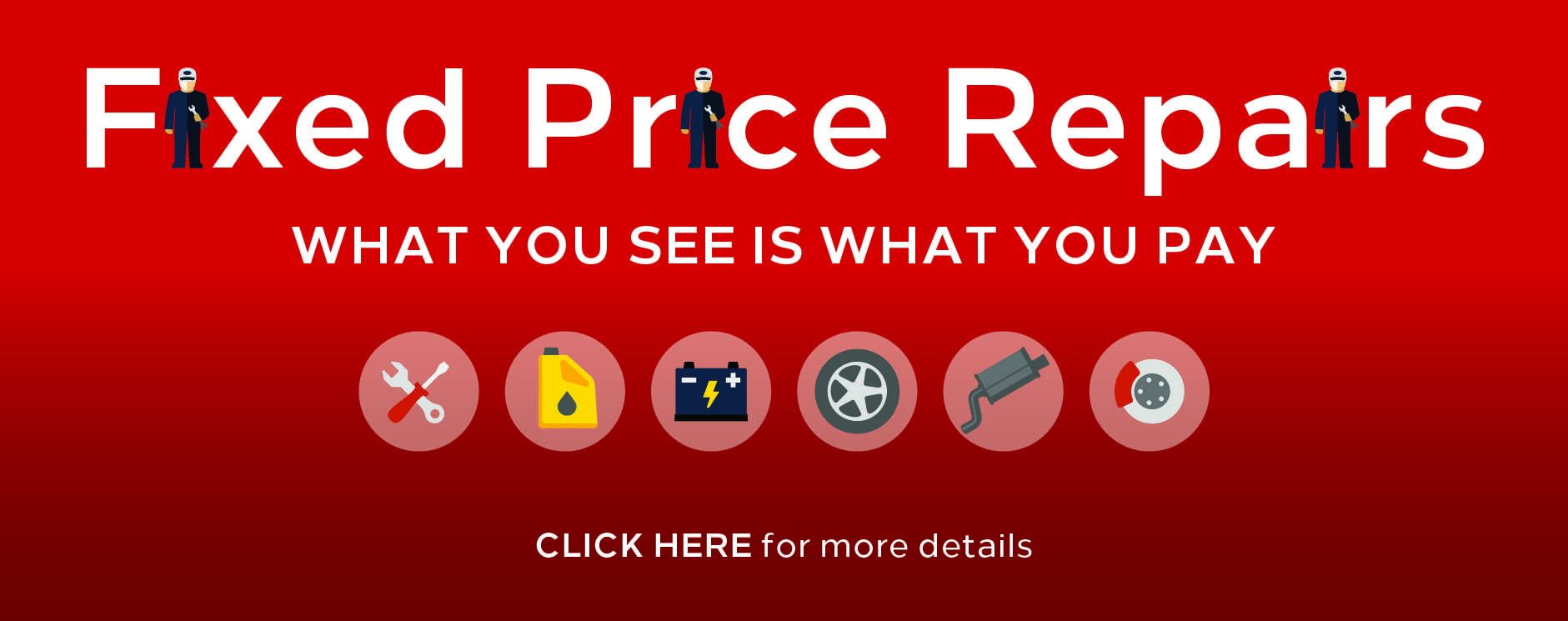 Vauxhall Fixed Price Servicing