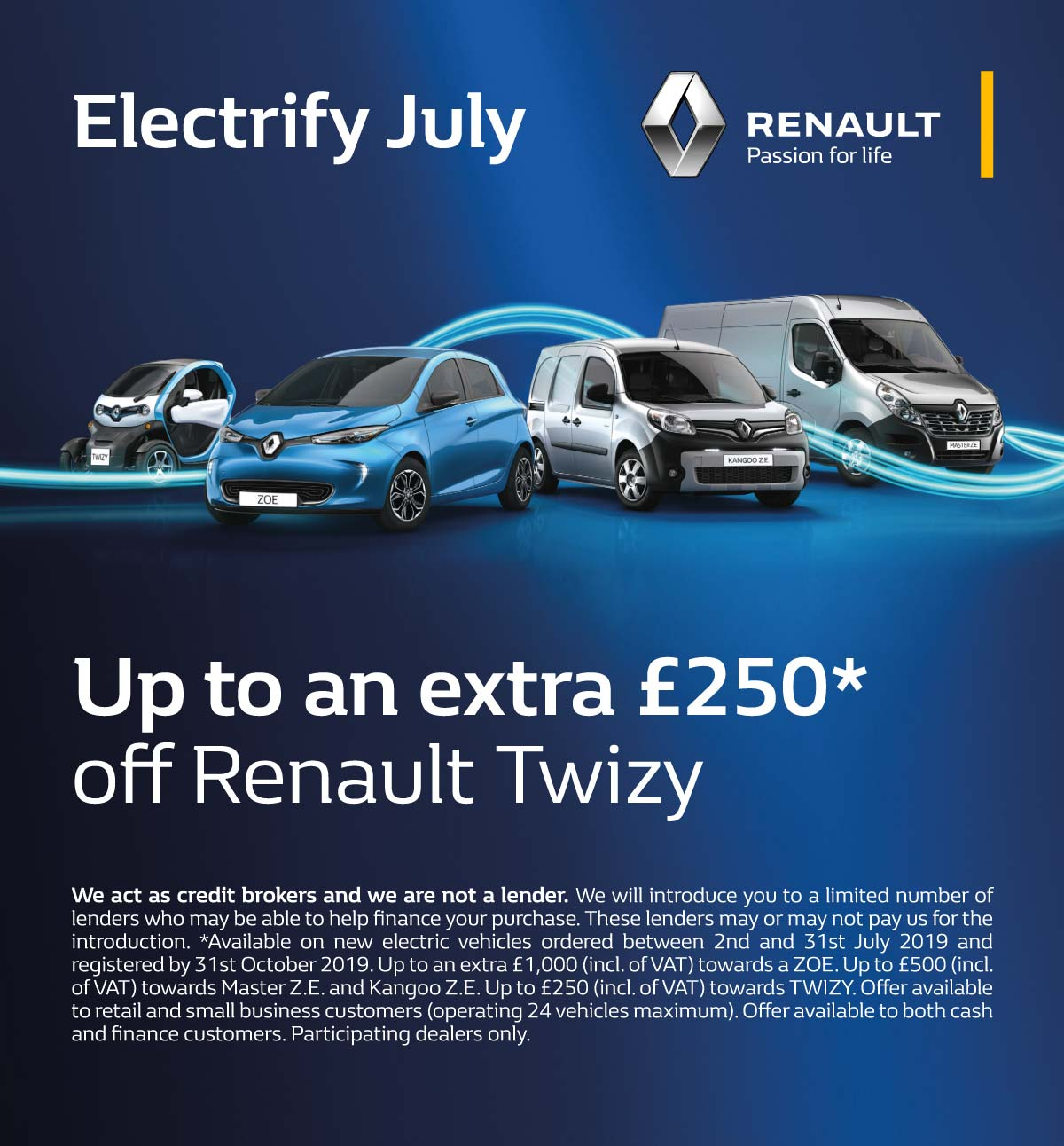 [Renault Twizy] Twizy Electrify July 020719 Banner 1