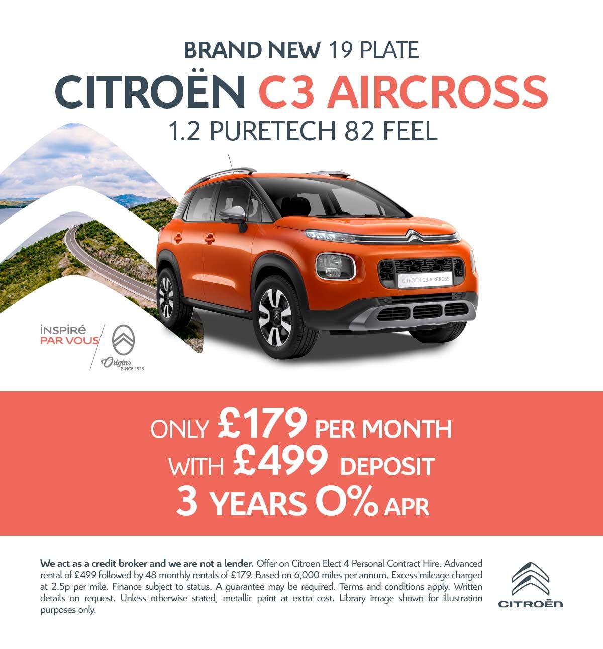 New Citroen C3 Aircross FLAIR Cars for Sale | Bristol Street
