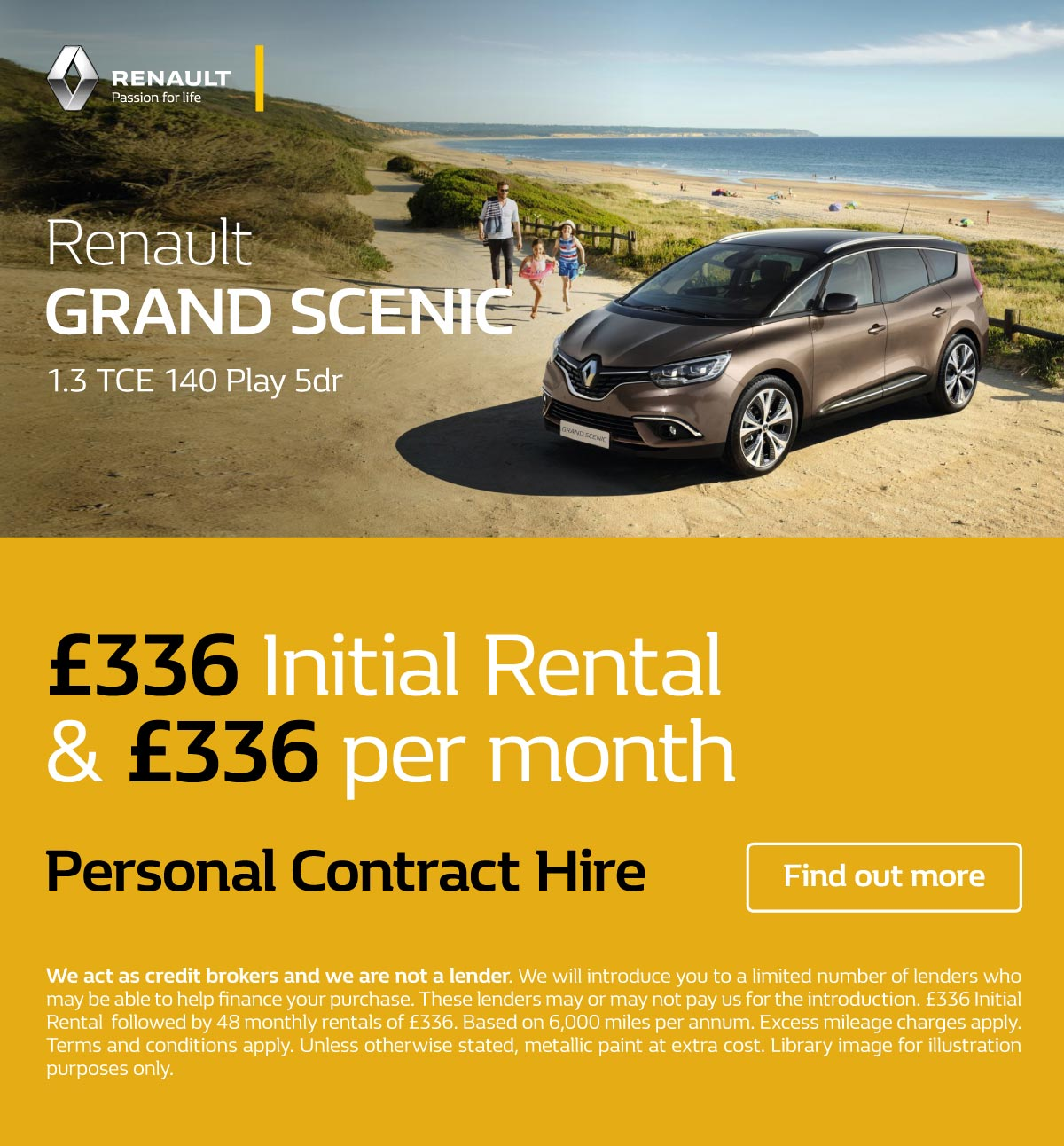 [Renault Grand Scenic] Grand Scenic Play 110719 Banner 1