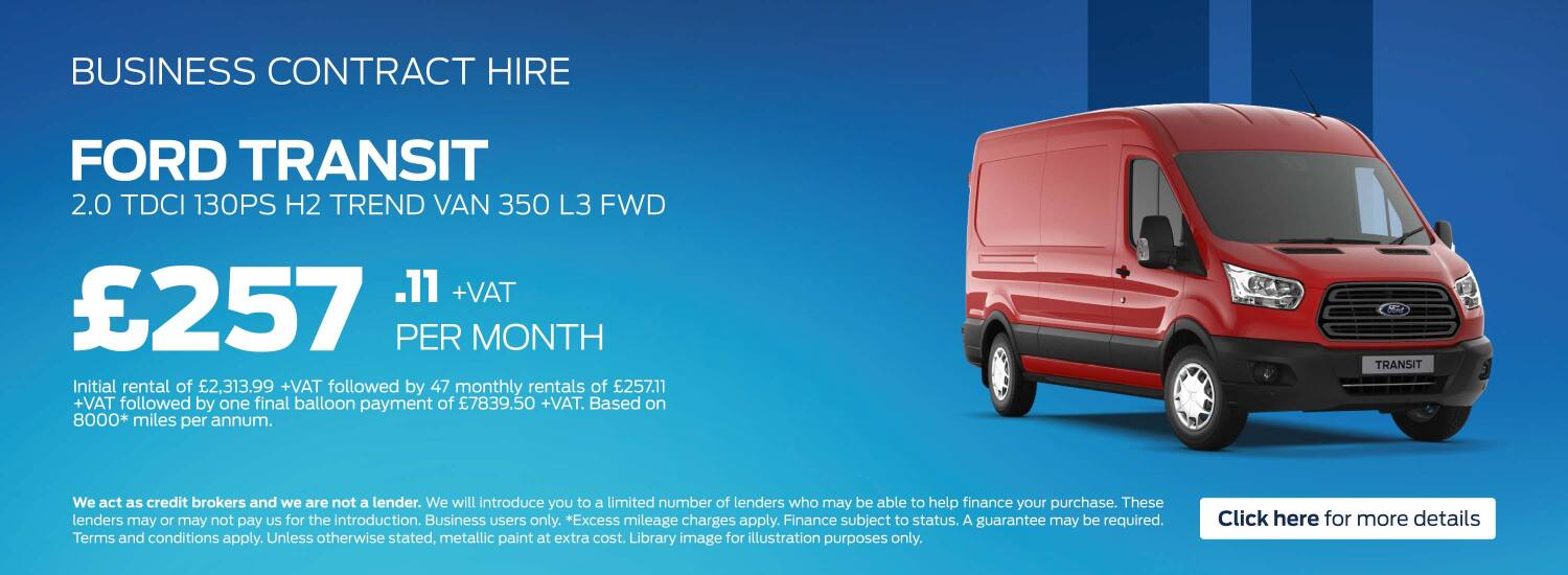 New Ford Vans for Sale | Bristol Street Motors