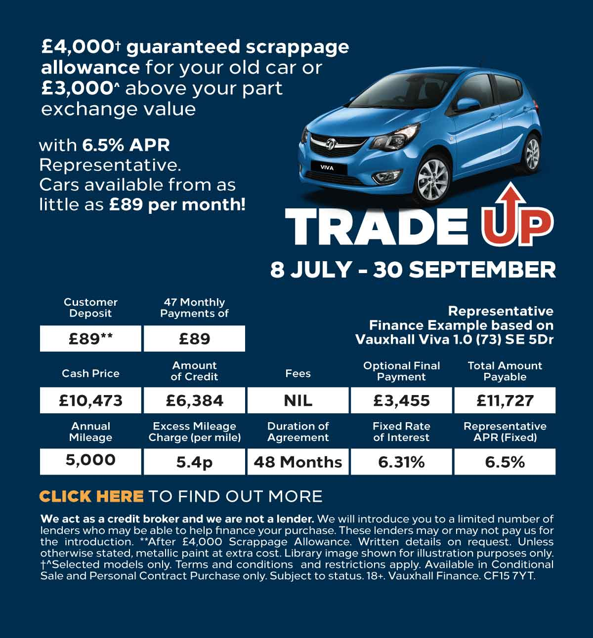 [Vauxhall Generic] Vauxhall Trade Up 170619 Banner 2