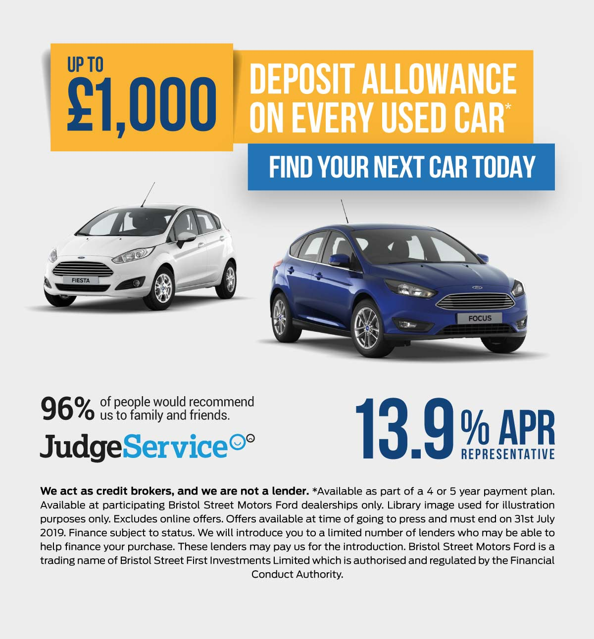 Ford Deposit Allowance Shirley 220819 Banner 1