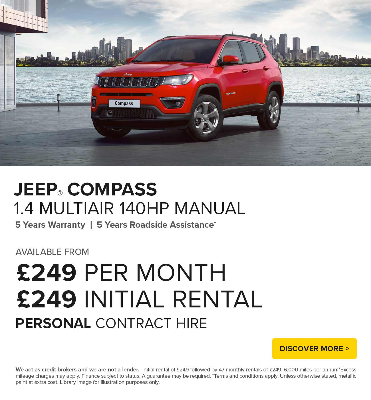 [Jeep Compass] Jeep Compass Multiair 180719 Banner 1