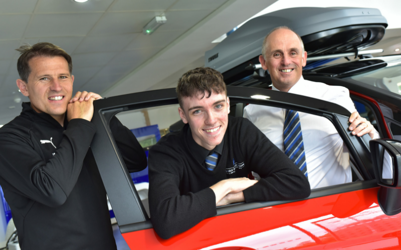 Bristol Street Motors Redditch Ford Helps Fund Football Academy