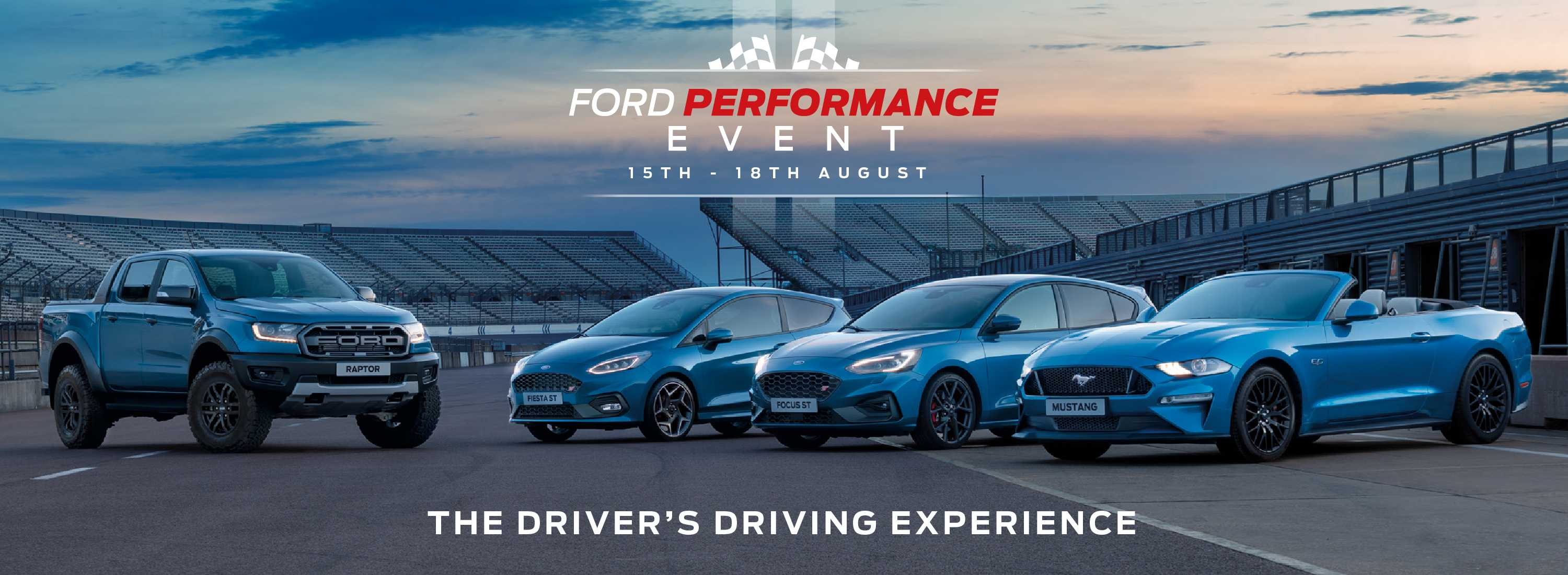 Ford Performance Event Banner