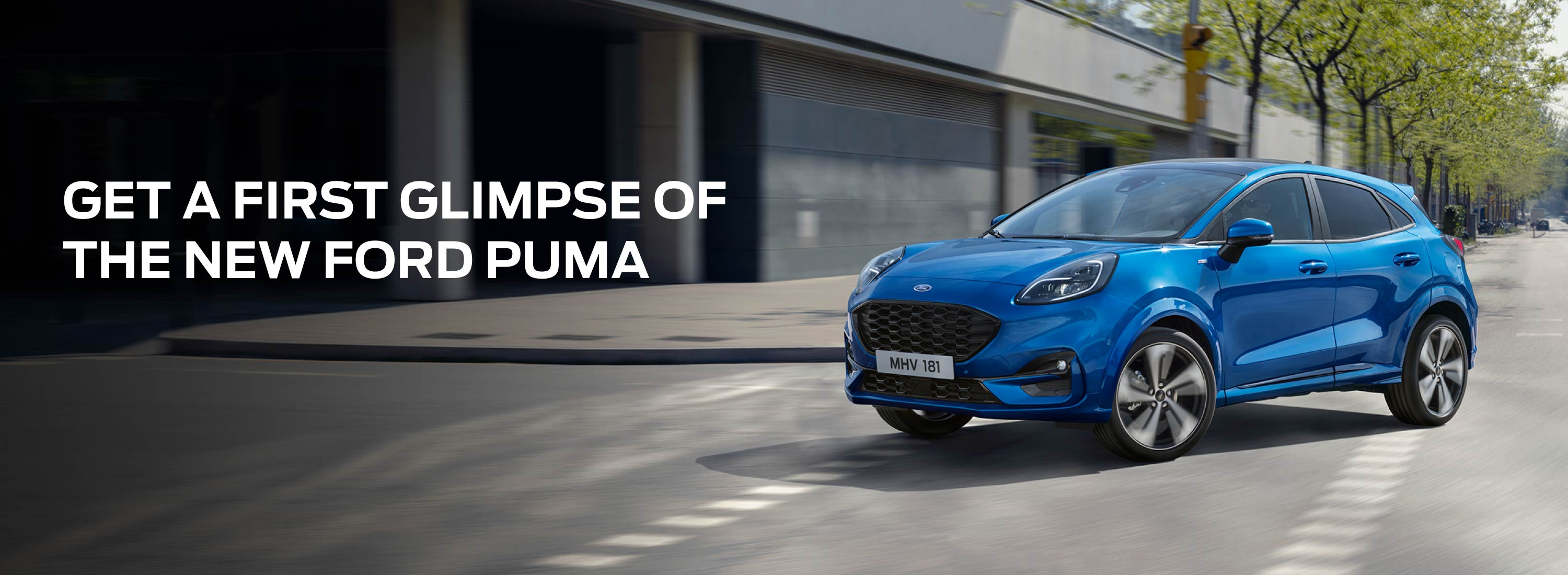 NEW FORD PUMA Banner