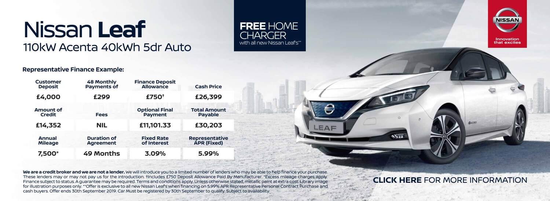 New Nissan Leaf Cars for Sale   Bristol Street Motors