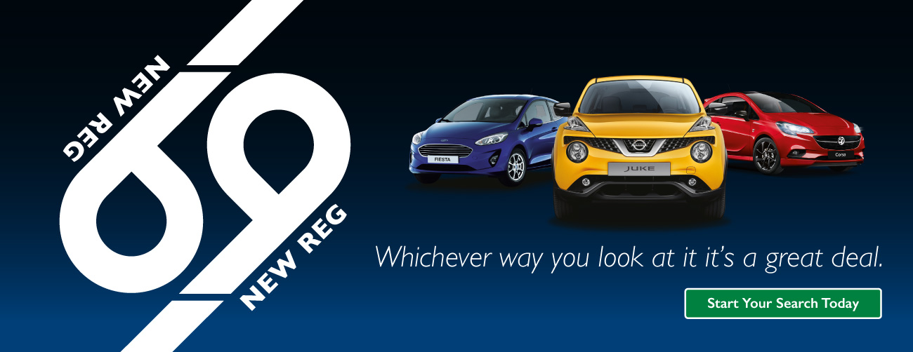 69 Reg New Car Banner - BSM