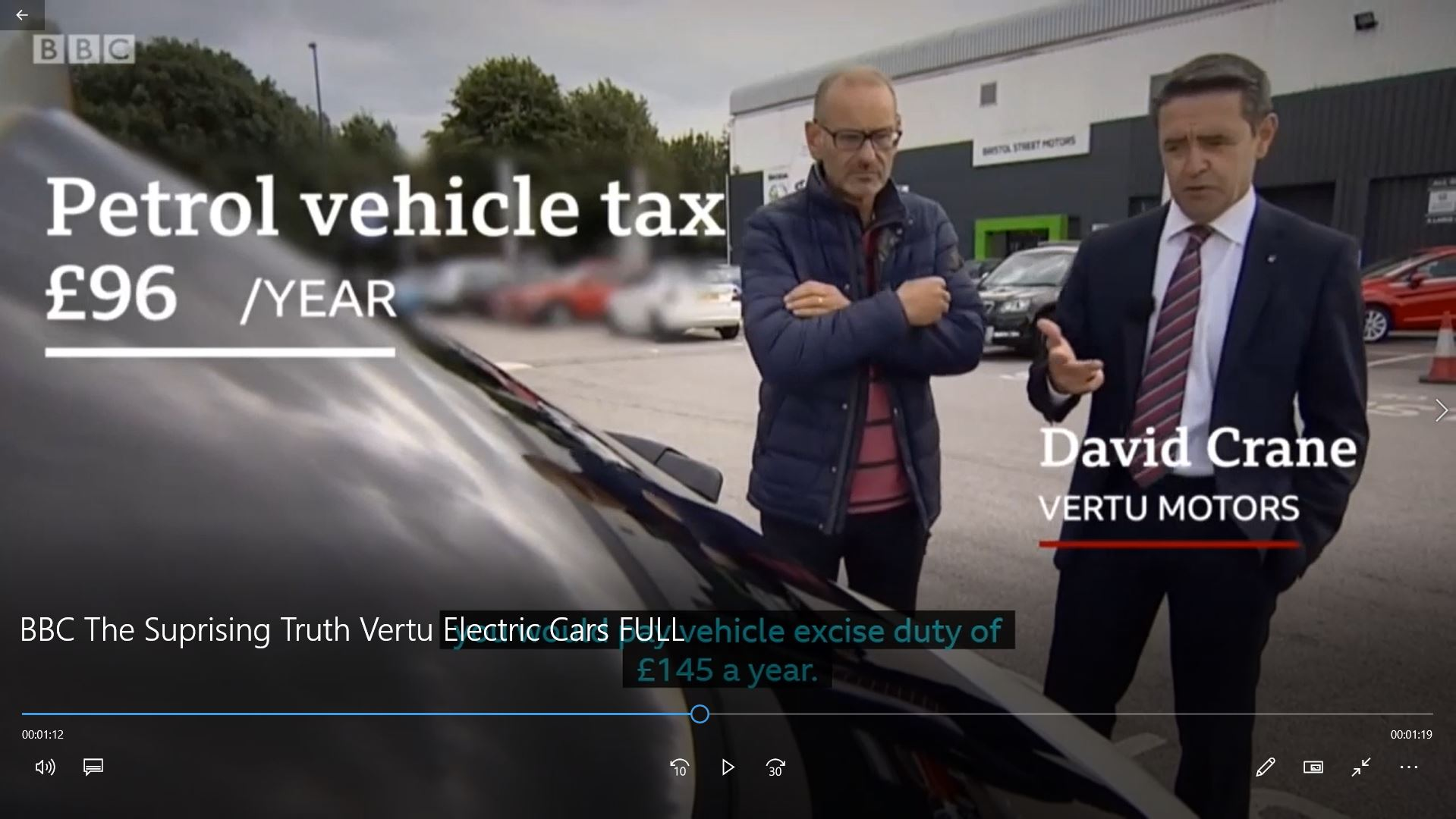 VIDEO: Vertu Motors Featured on BBC's The Surprising Truth