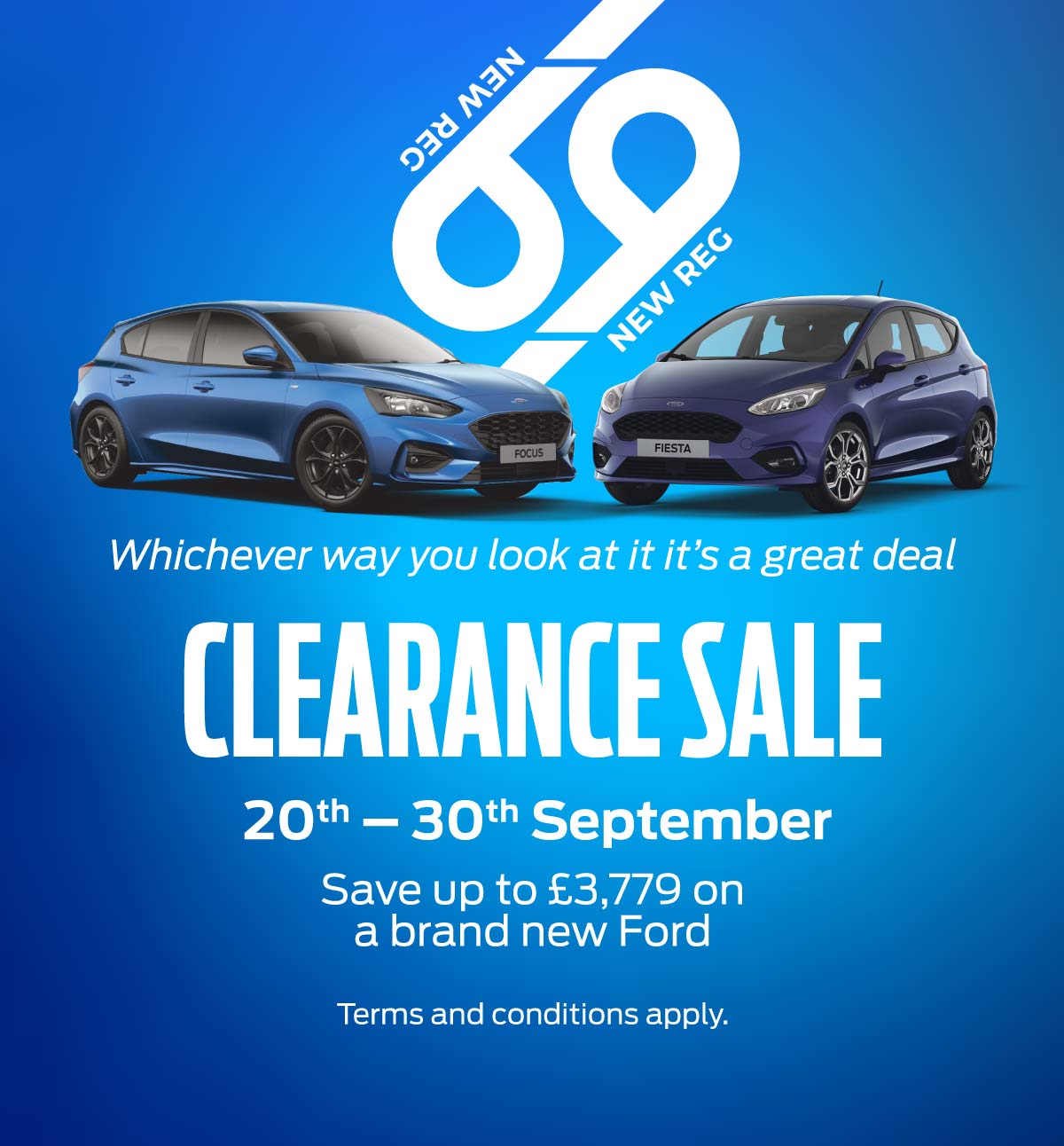 Ford Clearance Sale