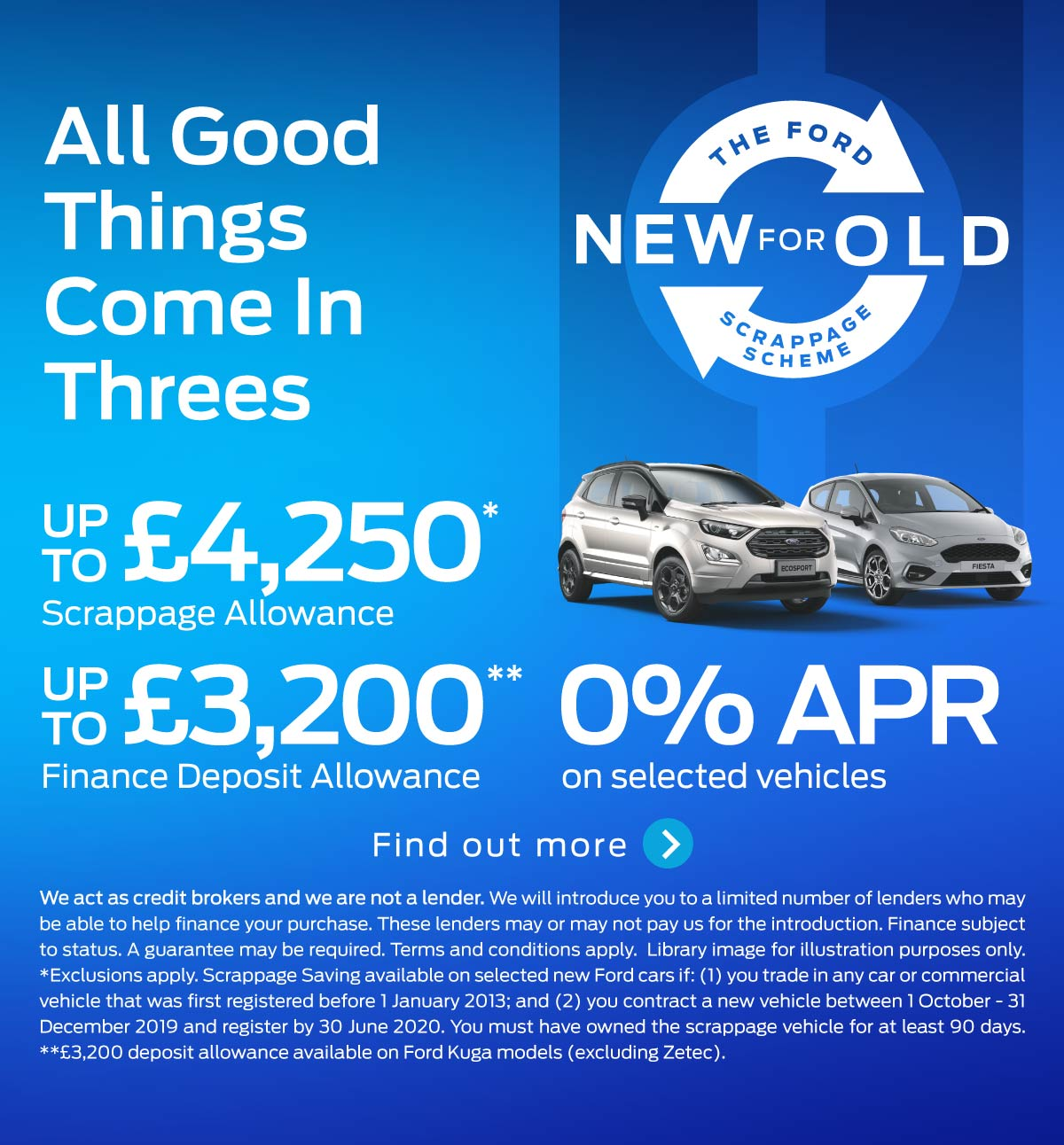 [Ford Generic] Ford Scrappage Scheme 141019 Banner 1