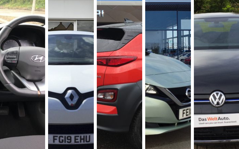 5 Of Our Best Used Electric Cars This Week