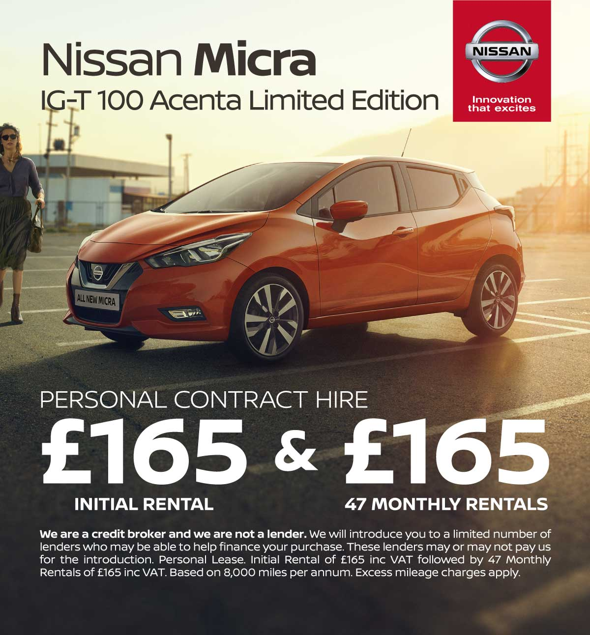( Nissan Micra) Nissan Micra 1.0 IG-T 100 Acenta Limited Edition Q4 151019 Banner 1