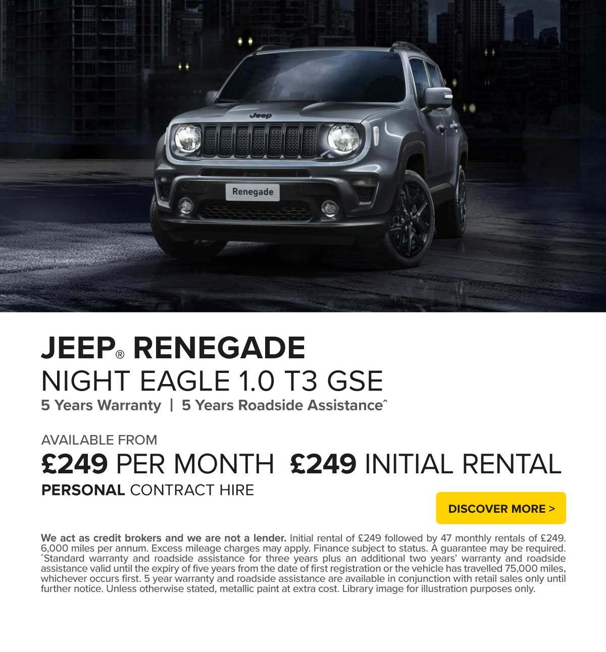 (Jeep Renegade) Jeep Renegade Q4 171019