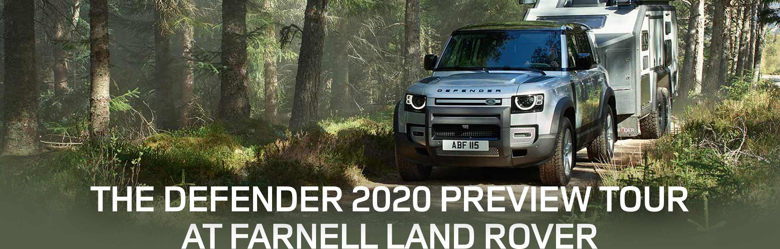 The Defender 2020 Preview Tour at Darnell Land Rover