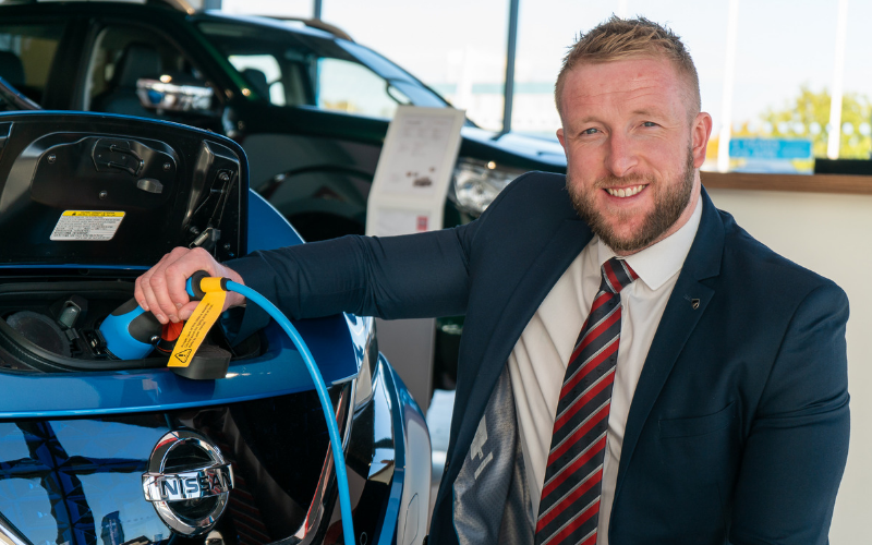 Electric Vehicle Accreditation For Bristol Street Motors Nissan Darlington